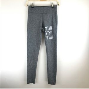 Outdoor voices leggings y'all limited edition, S